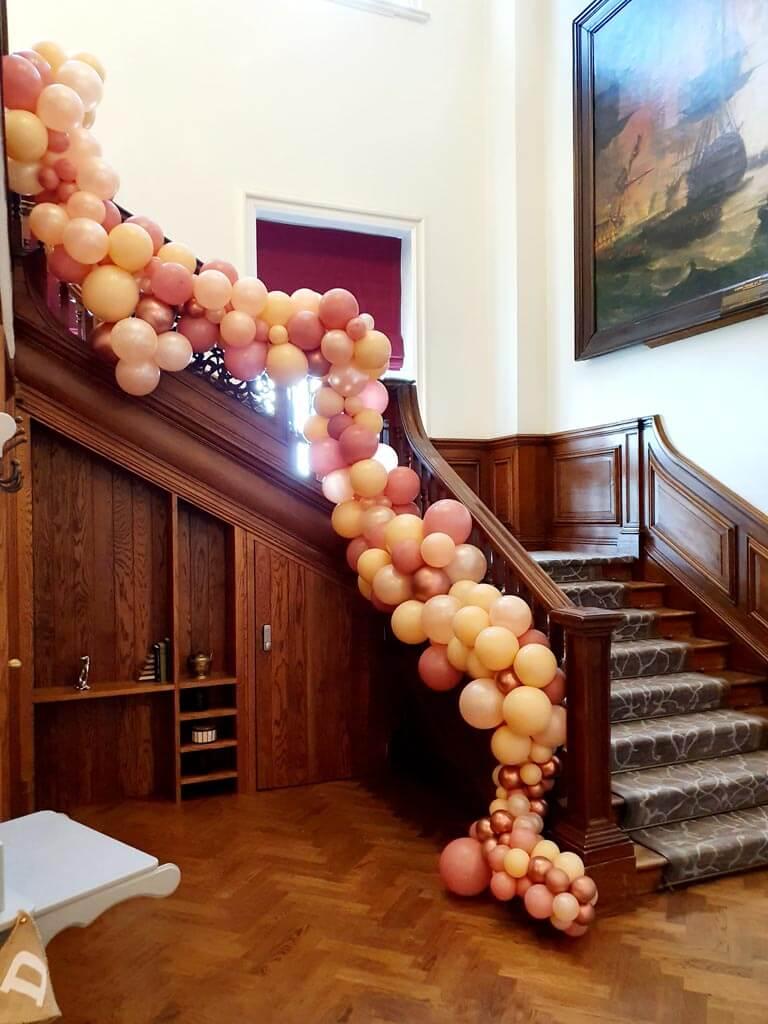Wokefield Park Hotel Organic staircase Garland 1 Airmagination