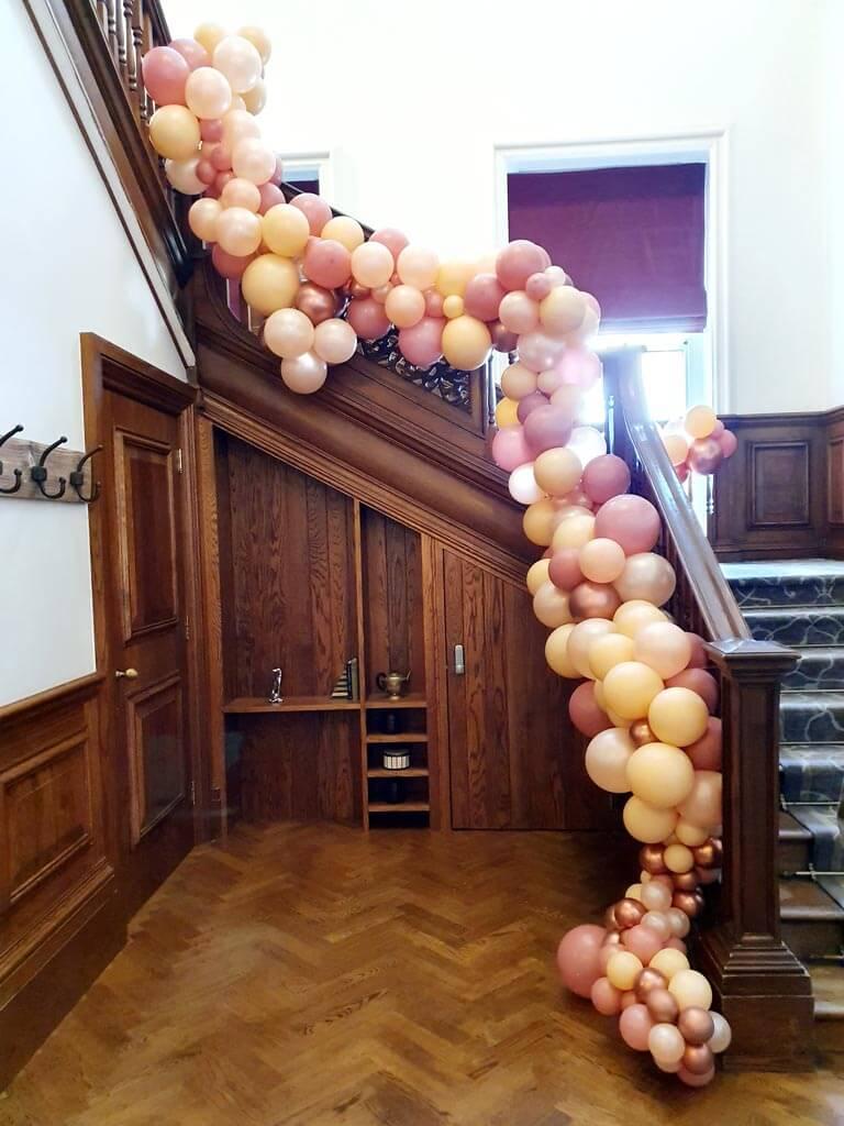 Wokefield Park Hotel Organic staircase Garland 2 Airmagination