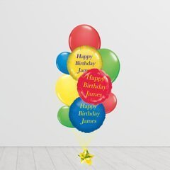 Circus Banging Bunch Balloons