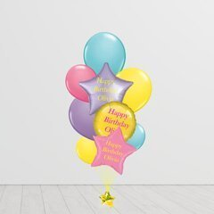 Perfectly Pastel Banging Bunch Balloons