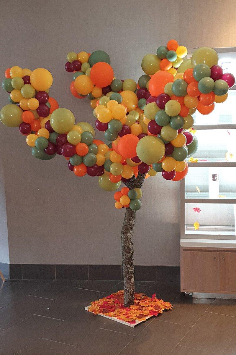balloon tree party celebrations