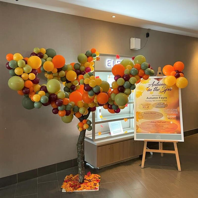 organic balloon tree party celebration